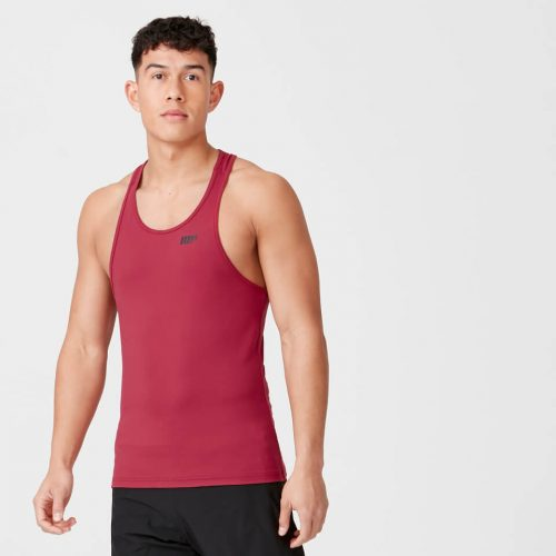Myprotein Dry Tech Stringer Vest - Dark Red - M