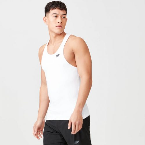 Myprotein Dry Tech Stringer Vest - White - XS