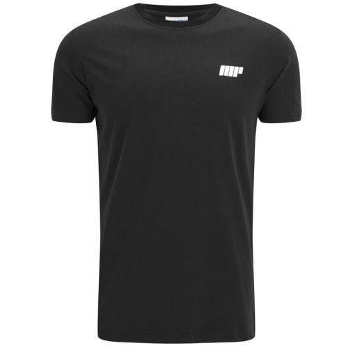 Myprotein Men's Longline Short Sleeve T-Shirt - Black, XXL