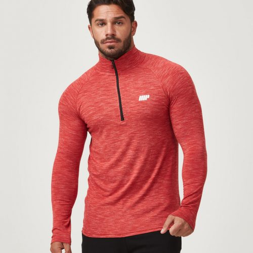Myprotein Men's Performance 1/4 Zip Top - Red - XL