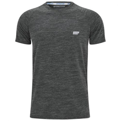 Myprotein Men's Performance Short Sleeve Top - Black, XXL