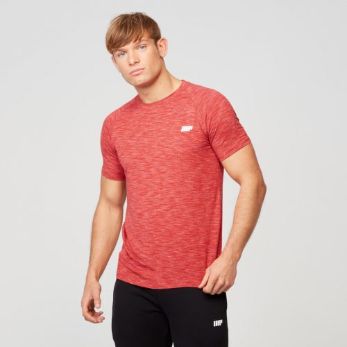 Myprotein Men's Performance Short Sleeve Top - Red - L