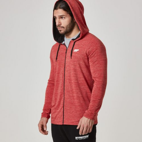 Myprotein Men's Performance Zip Top - Red - S
