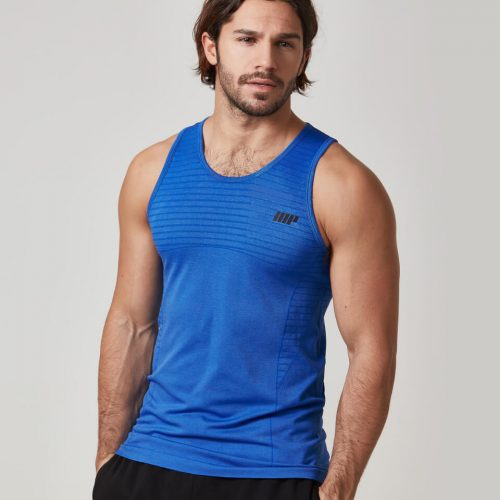 Myprotein Men's Seamless Tank Top - Royal Blue, XXL