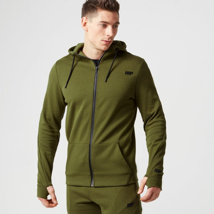Myprotein Men's Tech Hoody - Dark Khaki - XXL