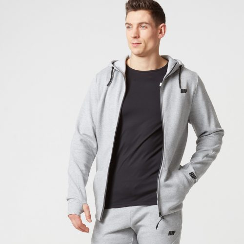 Myprotein Men's Tech Hoody - Grey Marl - L
