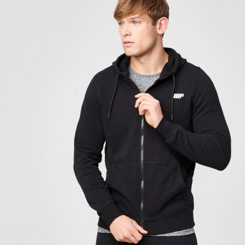 Myprotein Men's Tru-Fit Full Zip Hoodie - Black - L