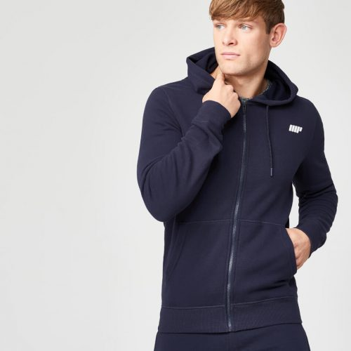 Myprotein Men's Tru-Fit Full Zip Hoodie - Navy - S