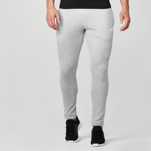 Myprotein Men's Tru-Fit Slim Fit Joggers - Light Grey Marl - XXL