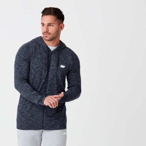 Myprotein Performance Zip Top - Navy Marl - XS