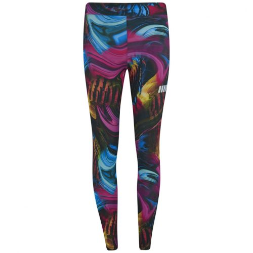 Myprotein Psychedelic Swirl Print Leggings - Multi, S