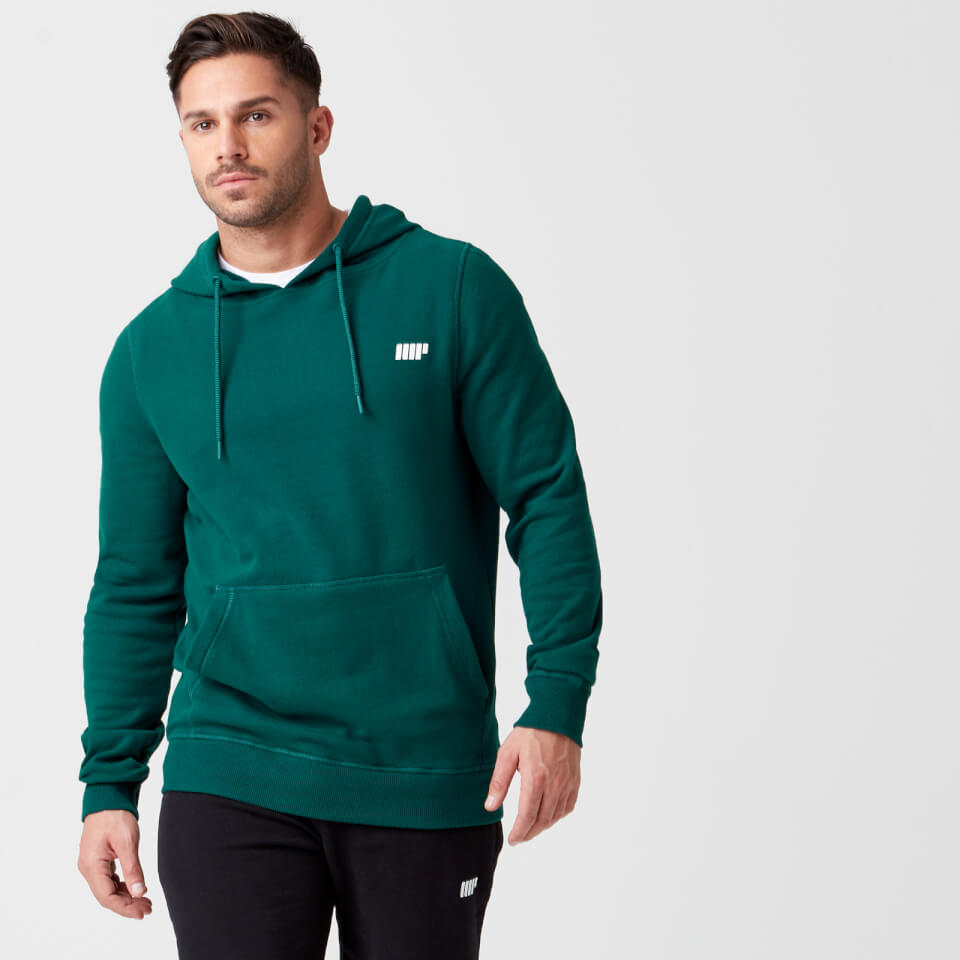 Myprotein Tru-Fit Zip Pullover Hoodie - Dark Green - XL
