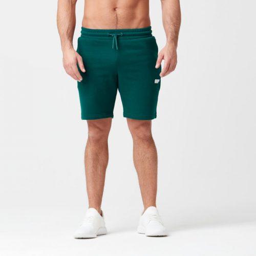 Myprotein Tru-Fit Zip Sweatshorts - Dark Green - XL