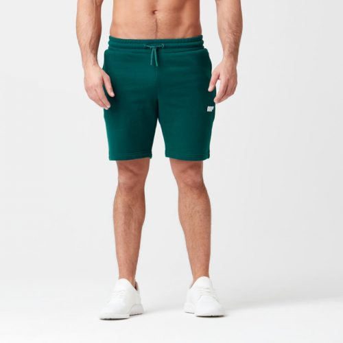 Myprotein Tru-Fit Zip Sweatshorts - Dark Green - XXL