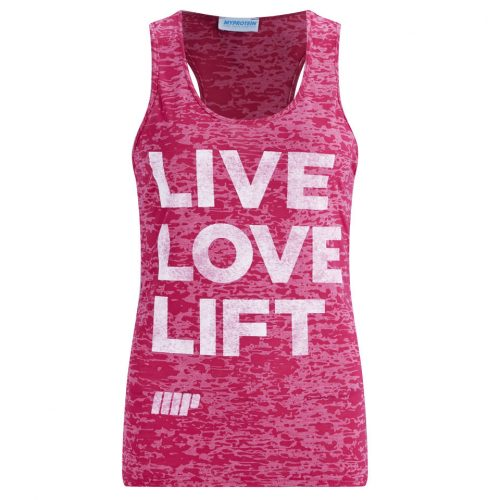 Myprotein Women's Burnout Tank - Pink, L