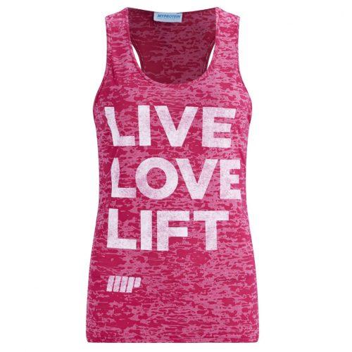 Myprotein Women's Burnout Tank - Pink, XL