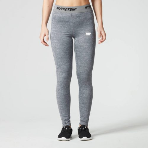 Myprotein Women's Core Leggings - Grey Marl, S
