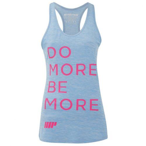 Myprotein Women's Performance Slogan Vest - Light Blue, XS