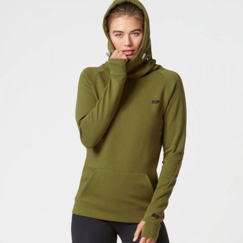 Myprotein Women's Tech Hoody - Khaki - XL