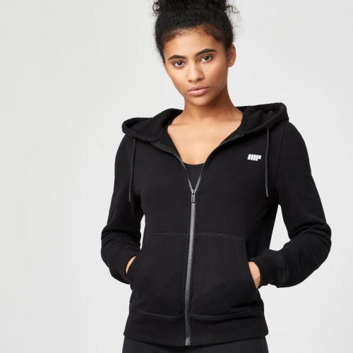 Myprotein Women's Tru-Fit Full Zip Hoodie - Black - L