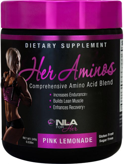 NLA For Her Her Aminos - 30 Servings Pink Lemonade
