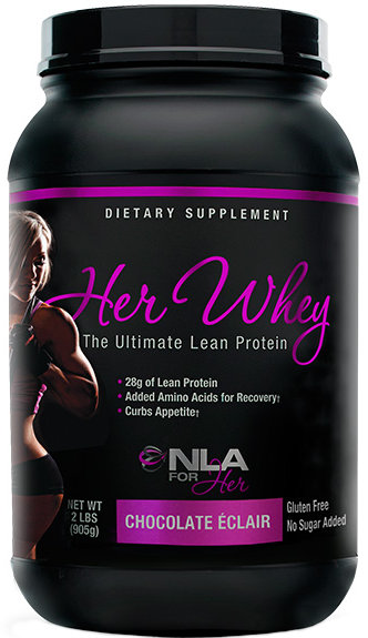 NLA For Her Her Whey - 2lbs Blueberry Muffin