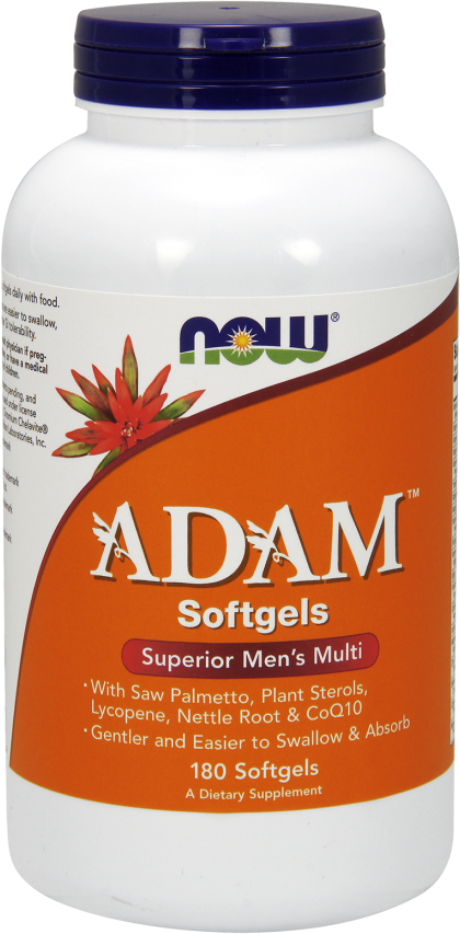 NOW Foods ADAM Men's Multi Softgels - 180 Softgels