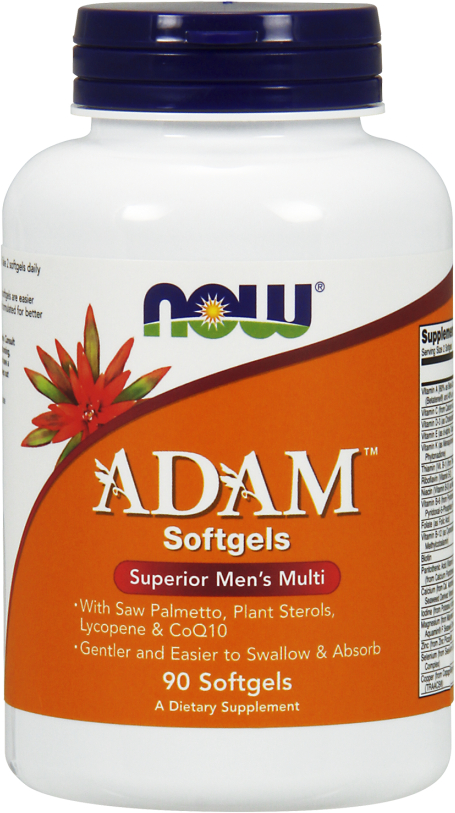 NOW Foods ADAM Men's Multi Softgels - 90 Softgels