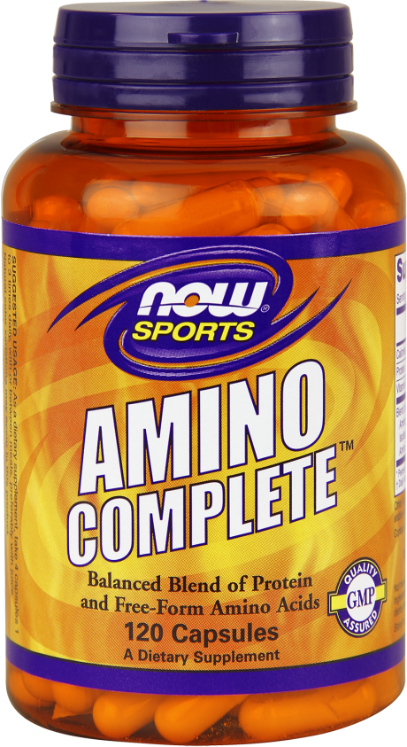 NOW Foods Amino Complete - 120 Capsules