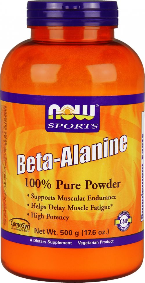 NOW Foods Beta-Alanine Powder - 500g