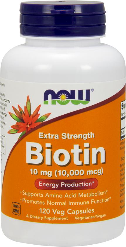 NOW Foods Biotin - 120 VCapsules