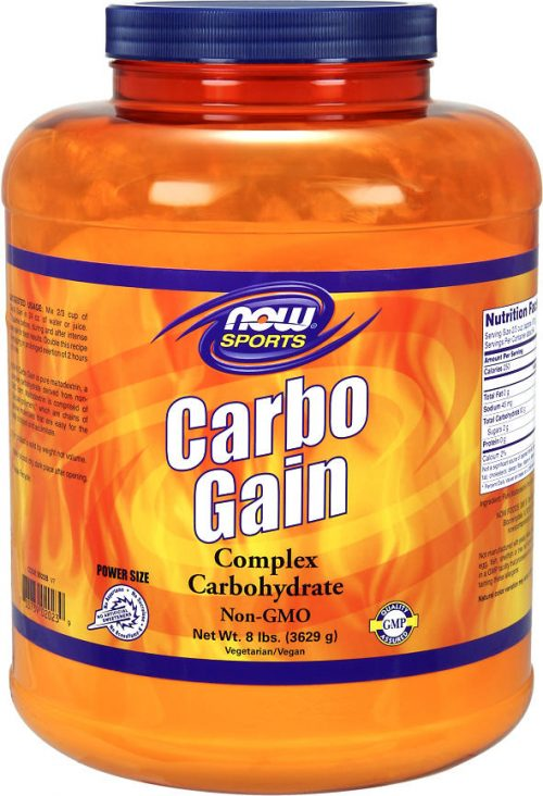 NOW Foods Carbo Gain - 8lbs