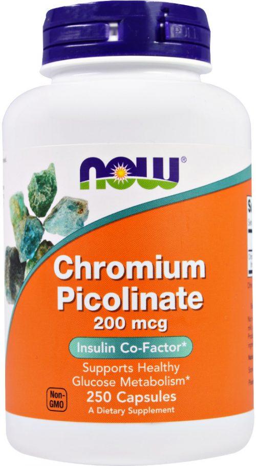 NOW Foods Chromium Picolinate - 250 Capsules