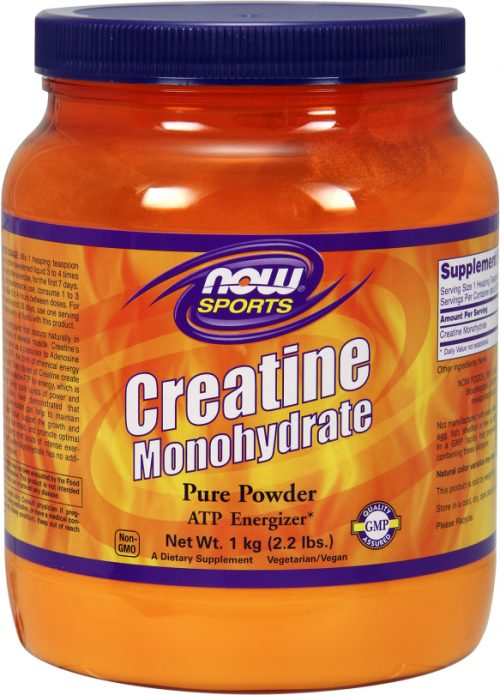 NOW Foods Creatine Monohydrate Powder - 1,000g