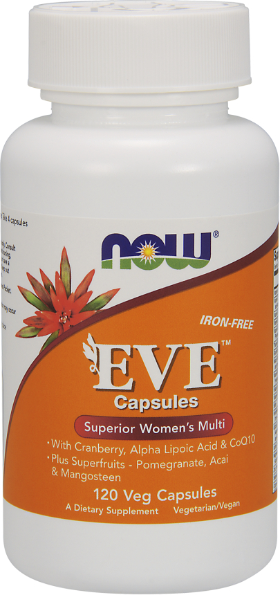 NOW Foods Eve Women's Multivitamin - 120 VCapsules