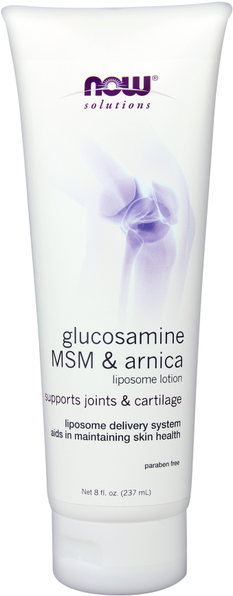 NOW Foods Glucosamine, MSM & Arnica Liposome Lotion - 8 Fl. Oz.