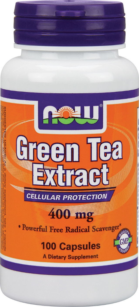 NOW Foods Green Tea Extract - 100 Capsules