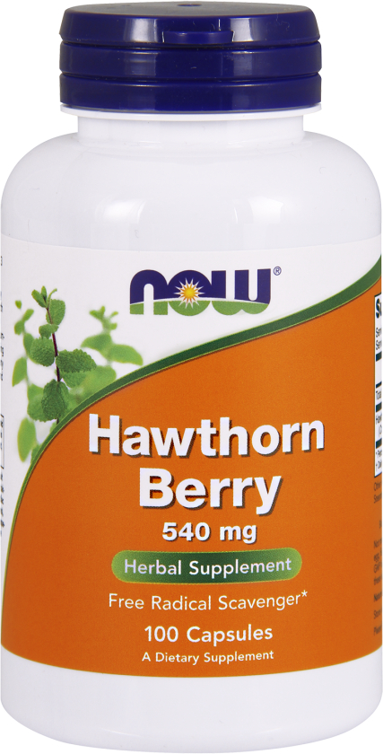 NOW Foods Hawthorn Berry - 100 Capsules