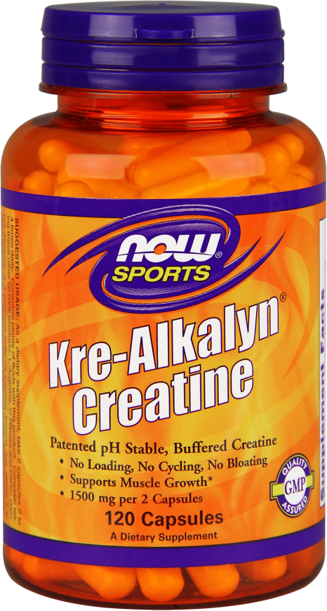 NOW Foods Kre-Alkalyn Creatine - 120 Capsules