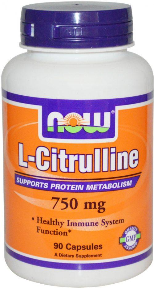 NOW Foods L-Citrulline - 90 Capsules