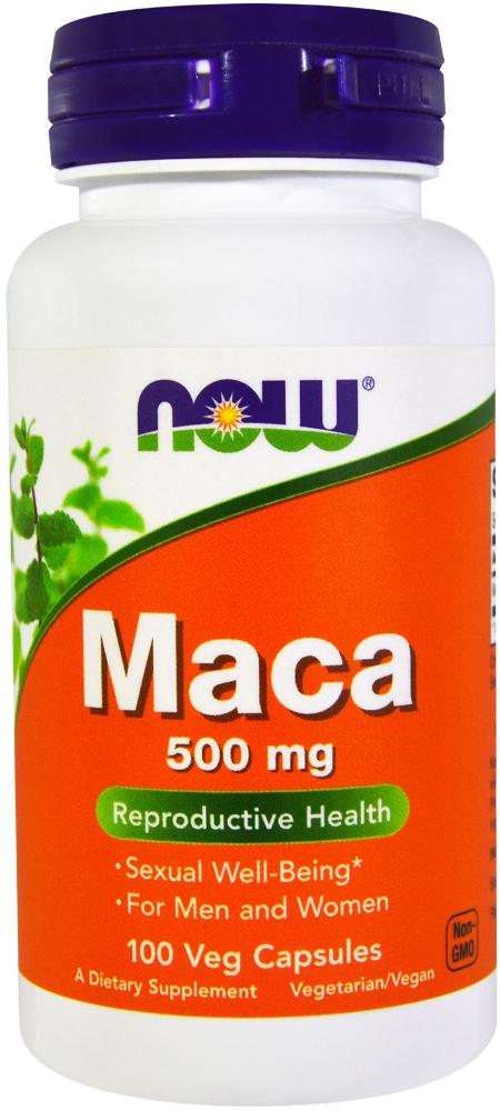 NOW Foods Maca - 100 Capsules