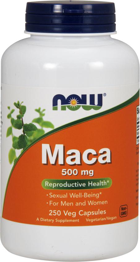 NOW Foods Maca - 250 Capsules