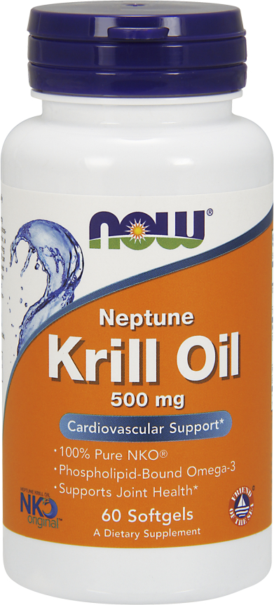 NOW Foods Neptune Krill Oil - 60 Softgels