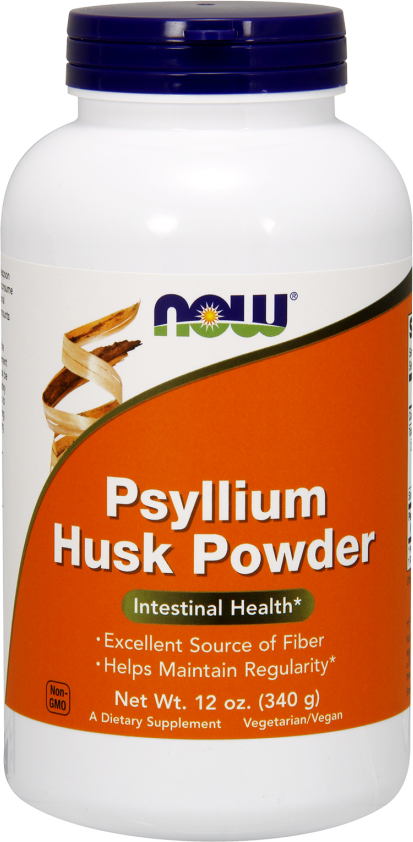 NOW Foods Psyllium Husk Powder - 12 Oz (340g)
