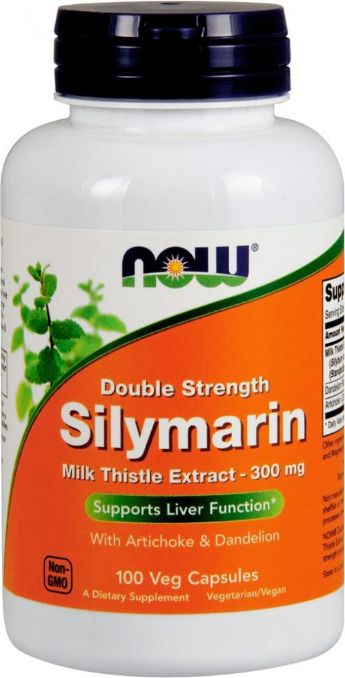 NOW Foods Silymarin (Milk Thistle Extract) - 300mg/100 VCapsules