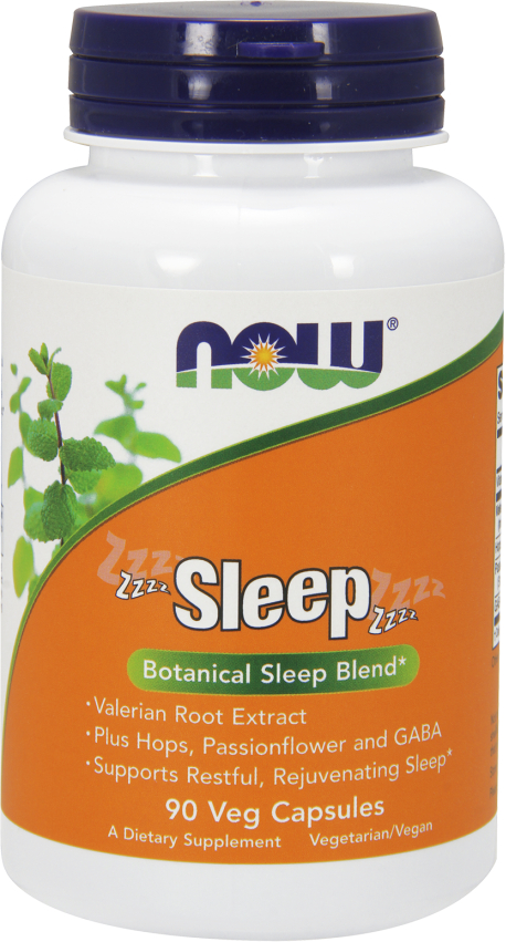 NOW Foods Sleep - 90 VCapsules