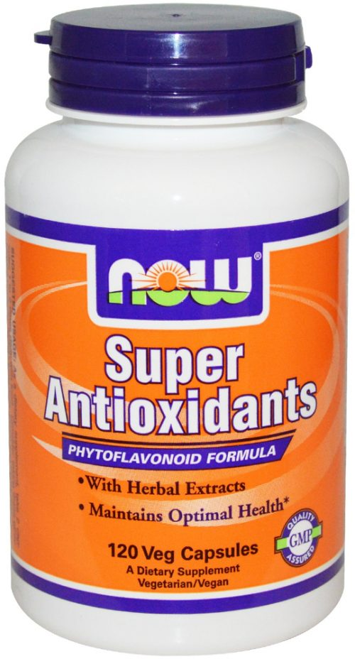 NOW Foods Super Antioxidants - 120 VCapsules
