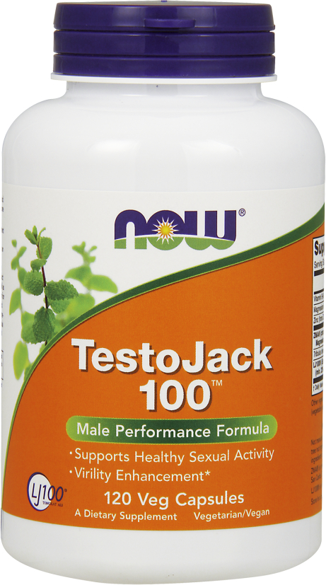 NOW Foods TestoJack 100 - 120 VCapsules