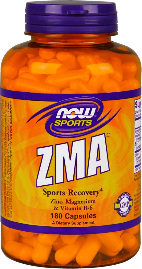 NOW Foods ZMA - 180 Capsules