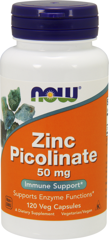 NOW Foods Zinc Picolinate - 120 Capsules